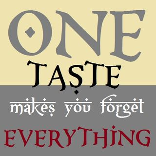 Khutbah: One Taste Makes You Forget Everything!