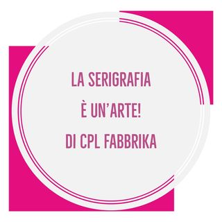Serigrafia. Come stampare su shopper