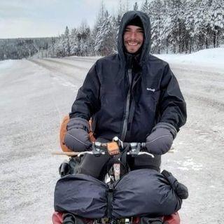 Lorenzo Barone: il mio viaggio in bici nel freddo polare della Siberia