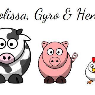 Moolissa, Gyro and Henny