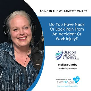 4/23/19: Melissa Gimby with Oregon Medical Centers, LLC (formerly First Choice Chiropractic & Rehabilitation)|Do you have neck or back pain?