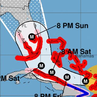 Last Chance For Floridians To Escape Hurricane Irma