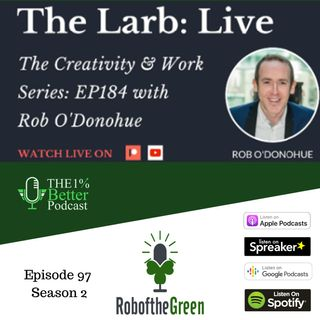 Creativity, Standout Guests, & 5am starts – Larry interviewing Rob – EP097