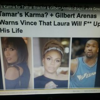 Gilbert Arenas Vs Laura Govan he drags her on Instagram and more!