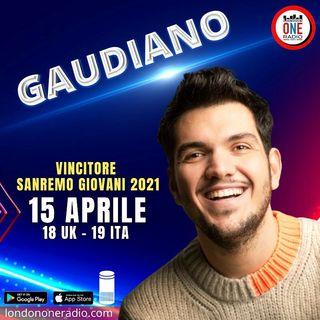 """Gaudiano: """"Dopo Sanremo, è in arrivo nuova musica"""""""