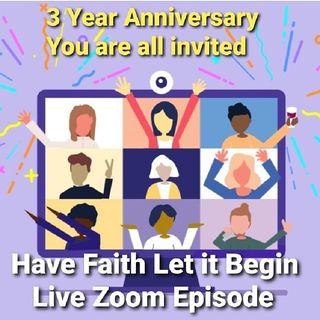 3 Year Zoom Celebration