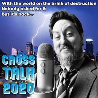 Cross Talk Ep 14 (from 2014) - Suzanne Cappelletti, Jamie Jenkins, Chuckie Steel. The Horror Episode