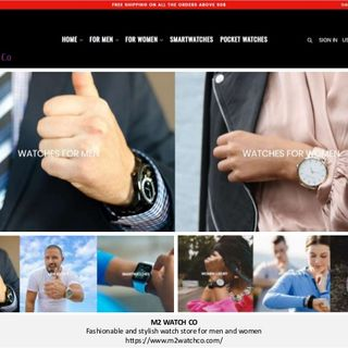 M2 Watch Co - Fashionable and Stylish Watch Store for Men & Women