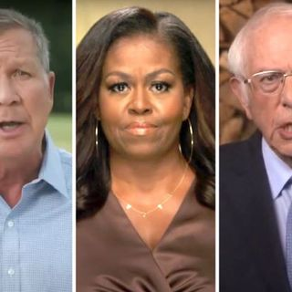 Michelle Obama, Bernie Sanders, and other Top Highlights of DNC Day One