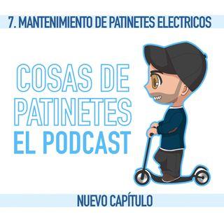 7. Consejos de mantenimiento para patinetes eléctricos