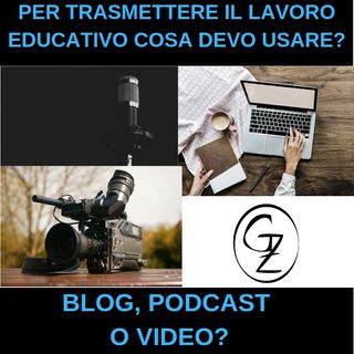 Come scegliere tra blog podcast o video?