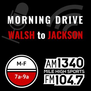 Wednesday May 1: Hour 2 - JJ Jerez on the Avs; Broncos get along; Ben Allbright on NFL Draft; NFL viewers