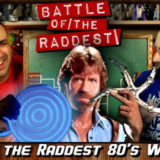 Battle of the Raddest: 80's Weapons [Tournament Bracket]