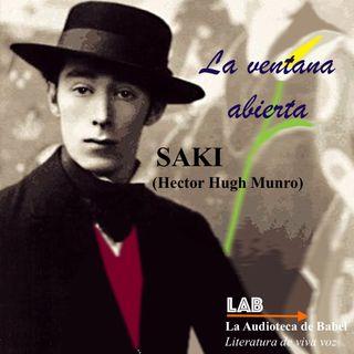 LA VENTANA ABIERTA. Audiocuento (SAKI. Hector Hugh Munro. 1911)