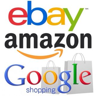 Historia Amazon, eBay, Google