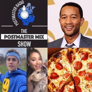 The Postmaster Mix presents: National Pizza Party Day, music from John Legend, and more!