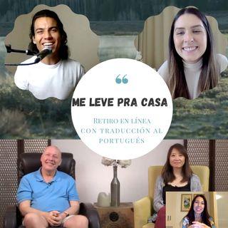 Retiro Online de final de semana em português 'Me Leve pra Casa' - Sessão da manhã 'Take Me Home' com David Hoffmeister e Frances Xu