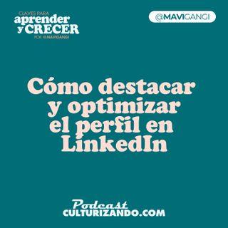 E8 • Cómo destacar y optimizar el perfil en LinkedIn • Marketing y Productividad • Culturizando