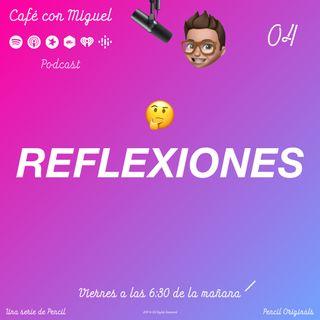 Cafe con Miguel - Reflexiones - Clave del exito - Pencil