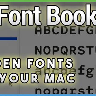 HOM 13: 12 Hidden Free Fonts in Catalina