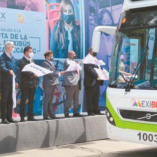 Mexibús Línea 1, será ampliado para conectar con el nuevo Aeropuerto.