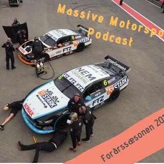 Massive Motorsport Podcast - Forårssæsonen 2019
