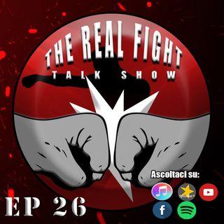 Marvin Vettori: Futuro e Scenari ft. Alessandro Botti - The Real FIGHT Talk Show Ep. 26