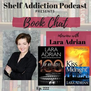 222: Reboot Interview with Author Lara Adrian | Book Chat