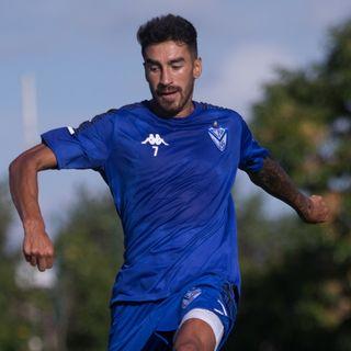 Gol de Vélez: Juan Lucero 1-1