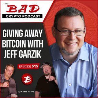 Giving Away Bitcoin with Jeff Garzik