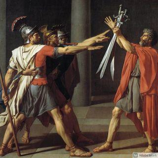 Il giuramento degli Orazi  Jacques Louis  David