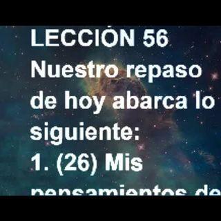 LECCIÓN 56 - Libro de Ejercicios. Un Curso de Milagros (Audiolibro)