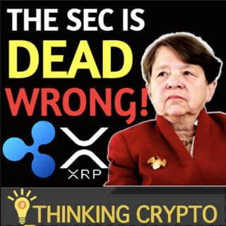 SEC Is Dead Wrong With Ripple XRP Lawsuit Says Former Chair - Bitcoin $57K & Ethereum $2K