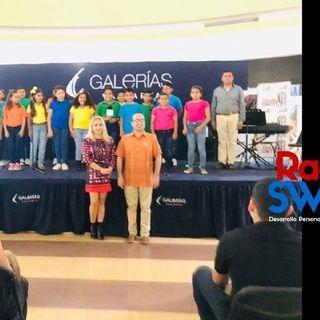 NIÑOS de La ORQUESTA ESCUELA PV en Galerías Vallarta/Rincón Del SABOR por RADIO SWITCH