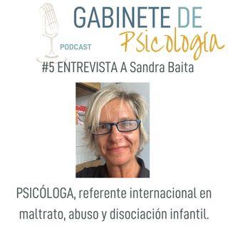 #5 El trabajo con la violencia y el abuso infantil con Sandra Baita