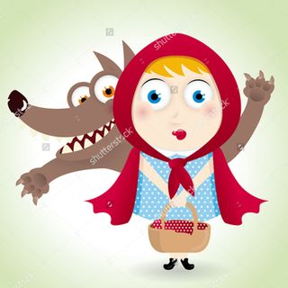John Luke Little Red Riding Hood