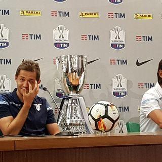 17.00 Simone Inzaghi e Senad Lulic