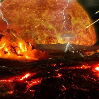 La Storia dell'Uomo - 4 - La nascita del Sistema Solare, della Terra e della Luna (Parte 3 - La nascita della Luna)