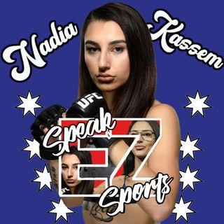 Nadia Kassem Episode #18 of The Speak EZ Podcast