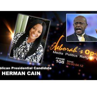 Deborah's Op-Ed on Rep Presidential Candidate Herman Cain