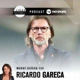 Ligas Mayores - Ricardo Gareca, mano a mano con Magui Aicega