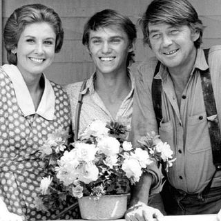 Michael Learned Celebrating The Waltons