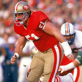 Randy Cross former San Francisco 49er Legend!
