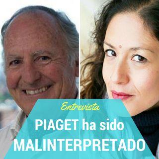 Antonio Battro: Piaget ha sido malinterpretado