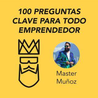 Carlos Muñoz presenta 100 preguntas clave para todo emprendedor
