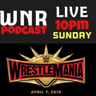 WNR213 WWE WRESTLEMANIA 35 LIVE KICKOFF