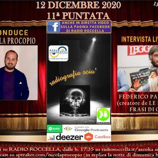 Radiografia Scio' - N.11 del 12-12-2020
