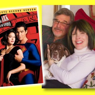 #384: Eugenie Ross Leming and Robert Singer on writing and producing Lois & Clark!
