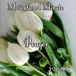 Prayer: 3-27-17