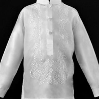 Organza Boy's Barong Tagalog for Boy Barongs R us